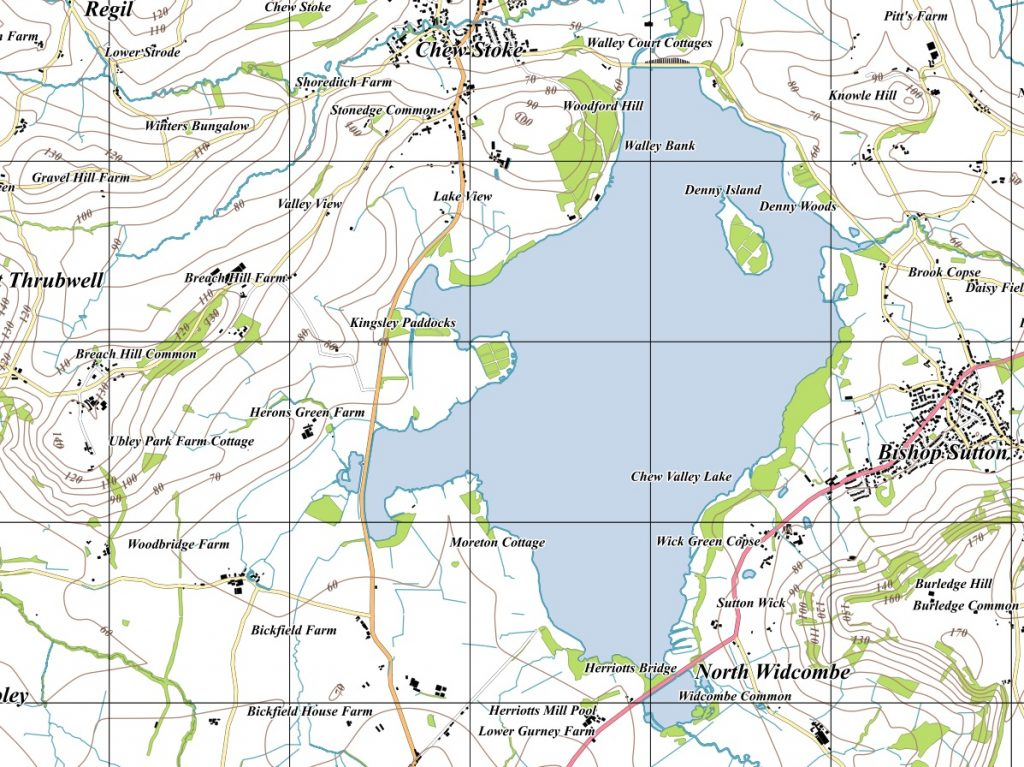 The Chew Valley Lake Area in 2016